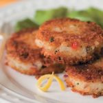 catfish cakes on plate