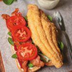 fried catfish BLT