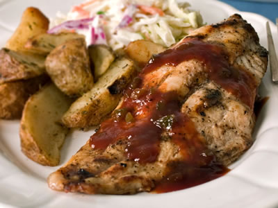 All–American Jalapeño and Honey BBQ Catfish