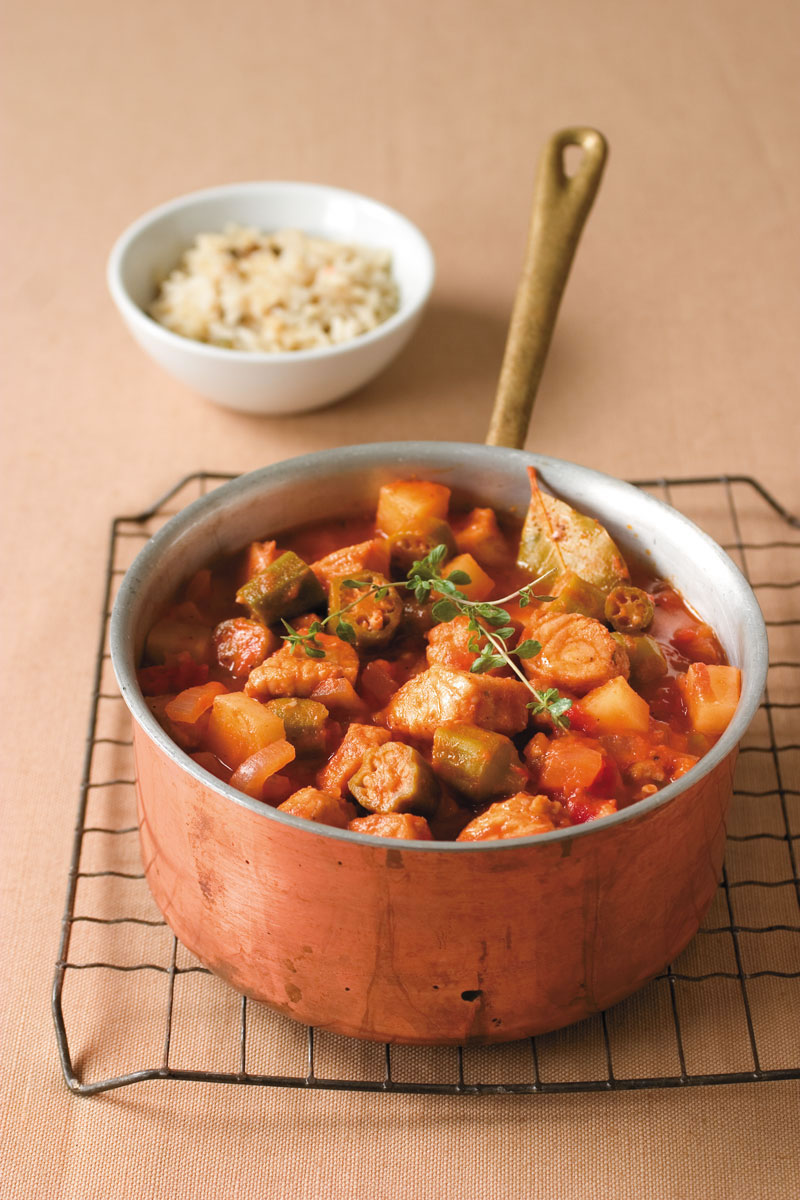 Okra Catfish Stew