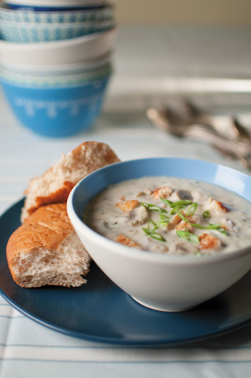 Heartland Catfish Company catfish bisque creamy soup fish recipe