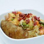 Catfish stuffed baked Potato