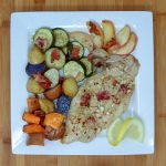 roasted Catfish and Fall Veggies