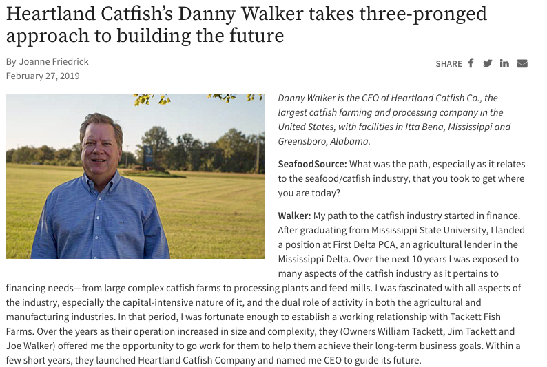 CEO Danny Walker Interview with Seafood Source