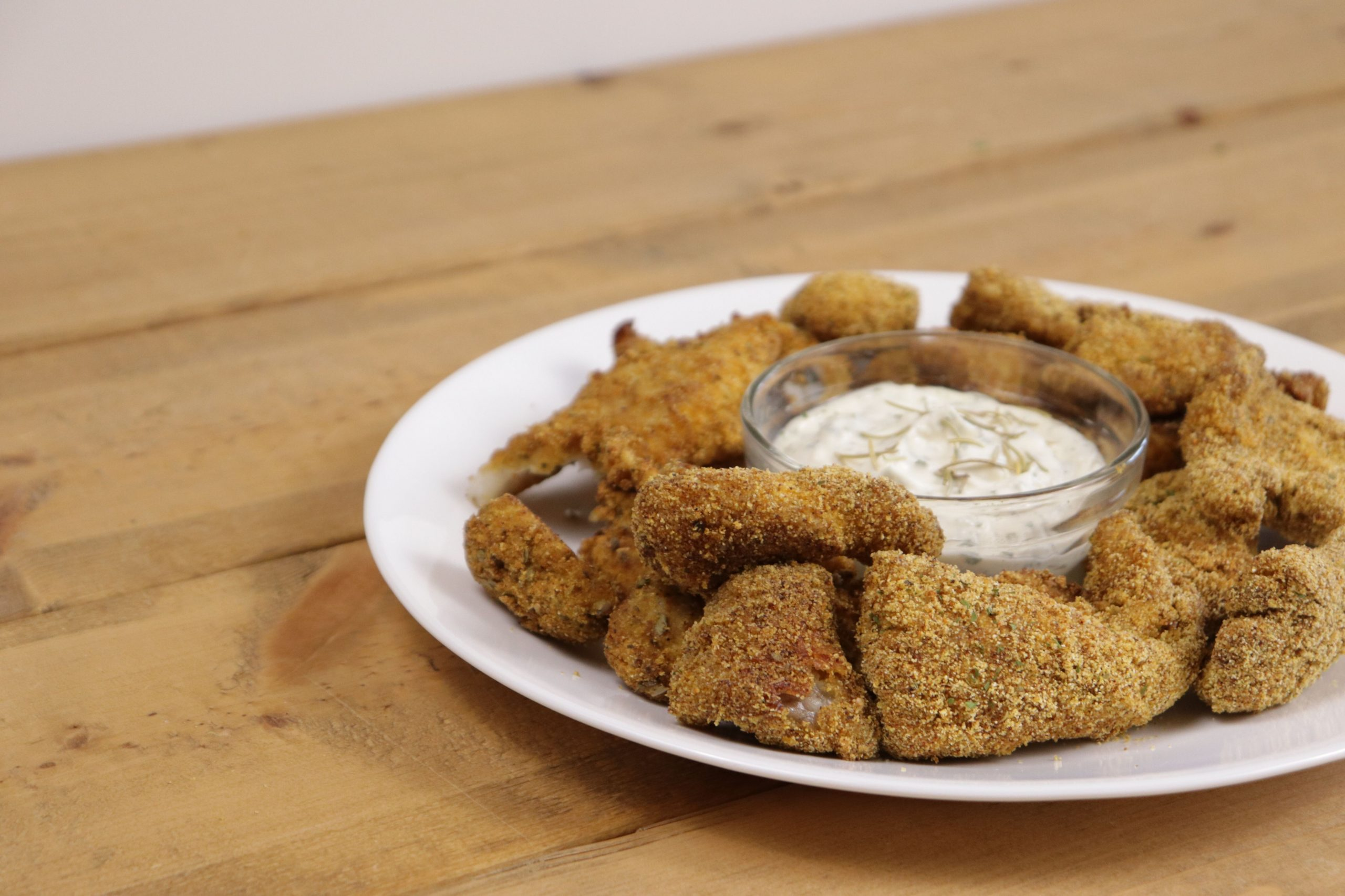 Baked Catfish Nuggets